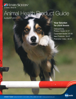 2017 August Animal Health Product guide