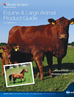 October 2017 Equine & Large Animal Product Guide