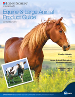 September Equine & Large Animal Product Guide